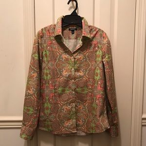 Paisley Supima Cotton Blouse